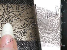 Rouleau Foils Nail Art Foil ongles Dentelle Etain 150 cm