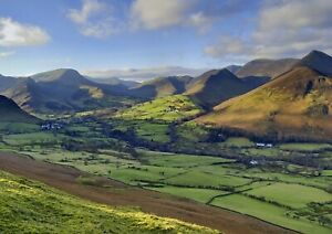 A1-Causey-Pike-Countryside-Poster-Print-60-x-90cm-180gsm-Wall-Art-Decor-16125