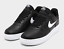 NIKE-AIR-FORCE-1-039-07-LV8-CUT-OUT-MEN-039-s-Sz-10-5-Shoe-Black-White-CZ7377-001-NEW thumbnail 1