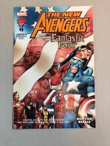 New-Avengers-Fantastic-Four-Military-Tribute-Marvel-Comics-2005