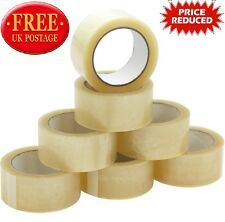 Clear Strong Parcel Packing Tape Cartoon Sealing 48mm X 50m Sellotape Packaging