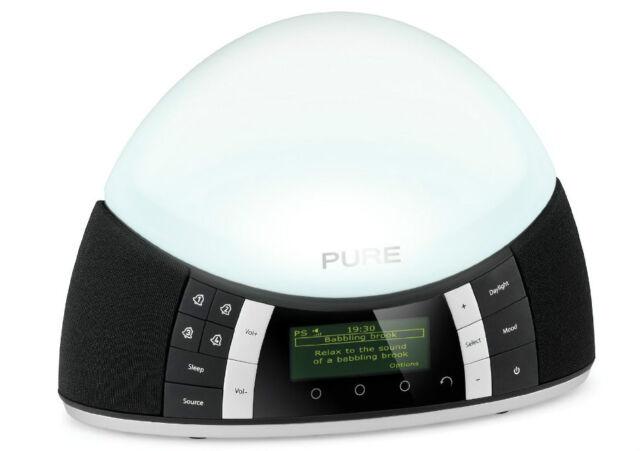 Pure Twilight DAB / FM Radio Alarm Clock with Mood and Wake Up Light VL61497
