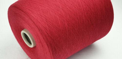 1 kg personajes 12,00 €//kg rojo nm 44 80/% lana//20/% poliamida Garn flachstricken
