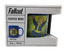 Bethesda Fallout 2 3 4 76 Fusion Flea Slocum/'s Joe Mug Camper Steel Cup 12 OZ