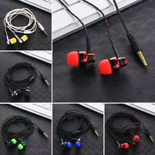Stereo In-Ear Earphone Headset Kopfhörer Earbuds 3.5mm For MP3 iPhone Samsung