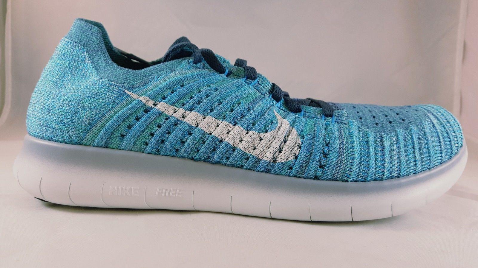 Nike Free RN Flyknit Women's Running Shoe 831070 404 Size 10