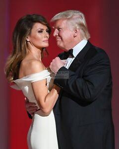 Donald Trump First Lady Melania Dance At Liberty Ball 8x10 Photo Ab 374 Ebay