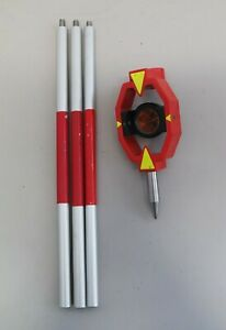Leica-GMP111-Mini-Prism-amp-3-Poles-Used