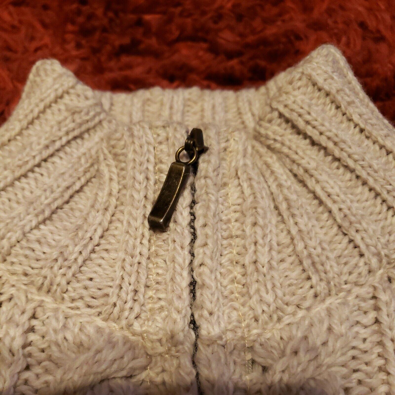 INIS CRAFTS Ireland Womens Small 100% Merino Wool… - image 2