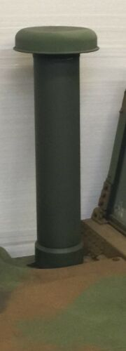 MILITARY HUMVEE GREEN Air Intake Snorkel Tube M998 M1038 M1045A2 M1043 No Cap