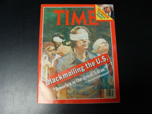TIME magazine November 19 1979 (Blackmailing the U.S.)