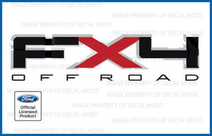 F Truck Bed Side Full Color Off Road 2011 Ford F150 STX Decals Stickers Set