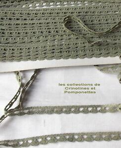 Croquet Avec Pied Vert Lichen Largeur 1cm Super Promo *