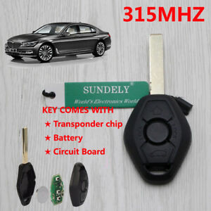 bmw key fob programming e46