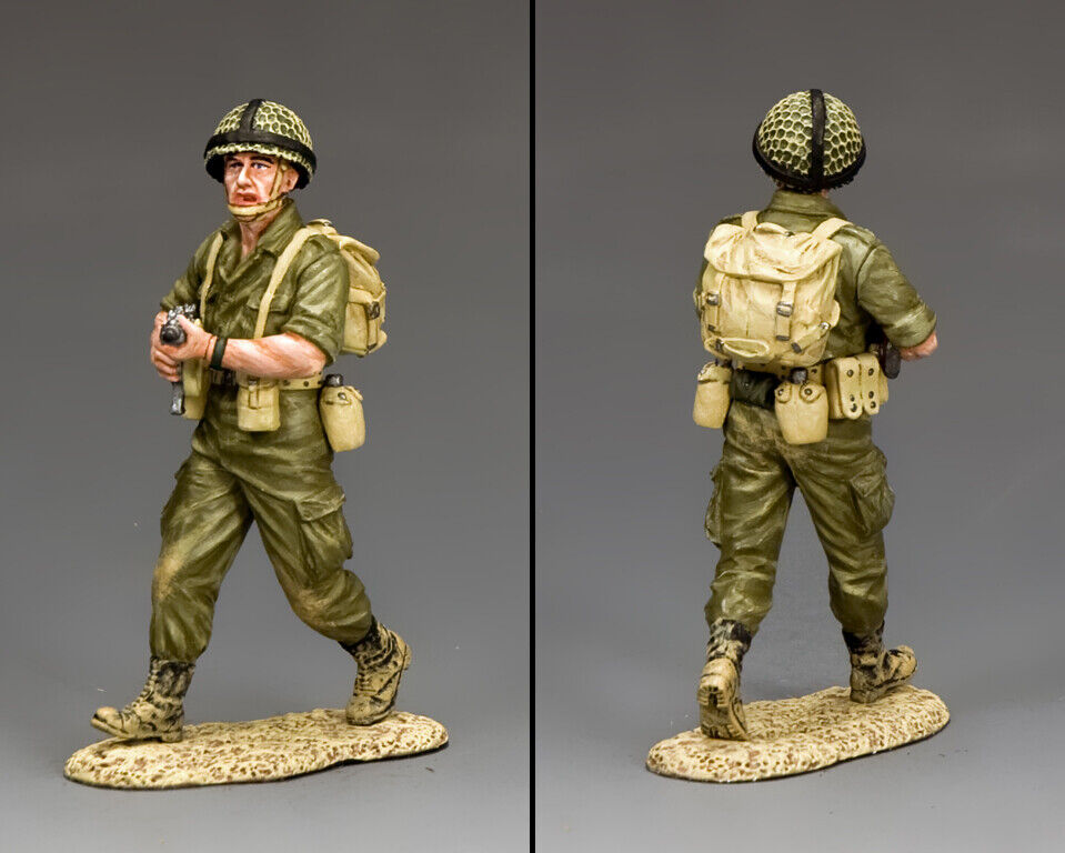 KING & COUNTRY ISREALI DEFENSE FORCE IDF004 ISREALI OFFICER WITH UZI MIB