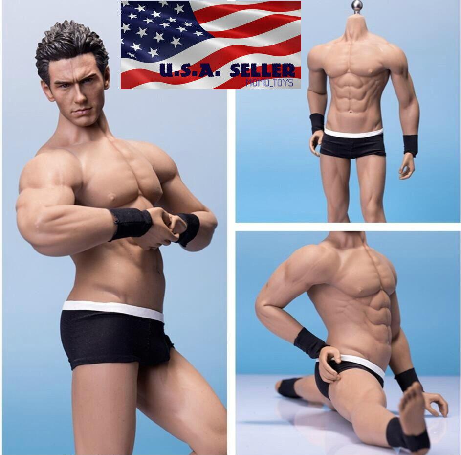 1/6 TBLeague PHICEN M33 Super Flexible Seamless Male Muscular Body Figure ❶USA❶