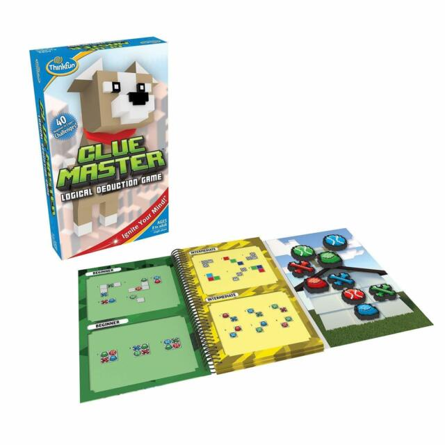 ThinkFun CLUE MASTER Logic and Problem Solving Game - Ages 8+ - Single Player