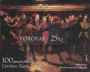 Faroe Islands #438 MNH CV$8.00 2003 Slania 100th Faroese Stamp Krause