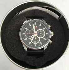 Bnib £329 T5 Lemans LM1 Men's Designer Stainless Steel Waterproof 30m Wristwatch