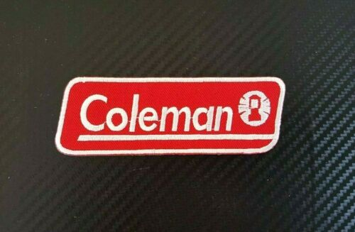 COLEMAN SPORTS BIKER LANTERN TENT CAMPING CAP Embroidered Iron Sew On Patch Logo