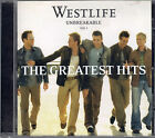 CD - Westlife – Unbreakable Volume 1 - The Greatest Hits