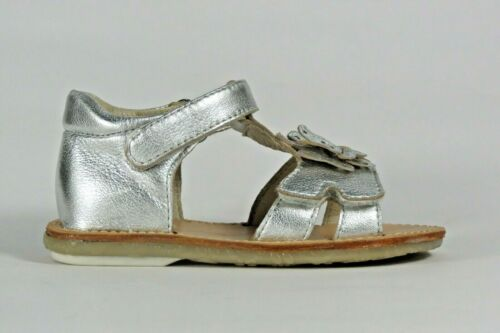 NOEL Enfant Mini Soy silver leather enclosed  heel little girl/'s sandal