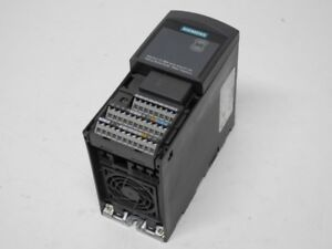 Business & Industrie Liberal Siemens Micromaster 440 6se6440-2ud15-5aa1 400v 0.55kw Tested Angenehm Bis Zum Gaumen
