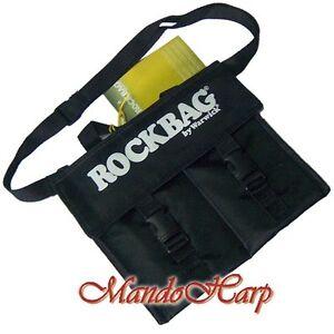 Rockbag-Harmonica-Bag-RB10300B-Gigbag-for-4-Blues-Harmonicas-NEW
