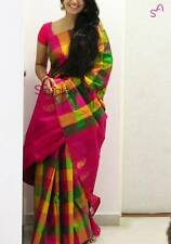 Bollywood Saree Party Wear Indian Pakistani Ethnic Designer Sari Wedding  JK7607