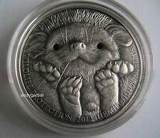 Mongolia - 2012  - 500 Togrog - Silver .999 -  Hedgehog + Certyficate