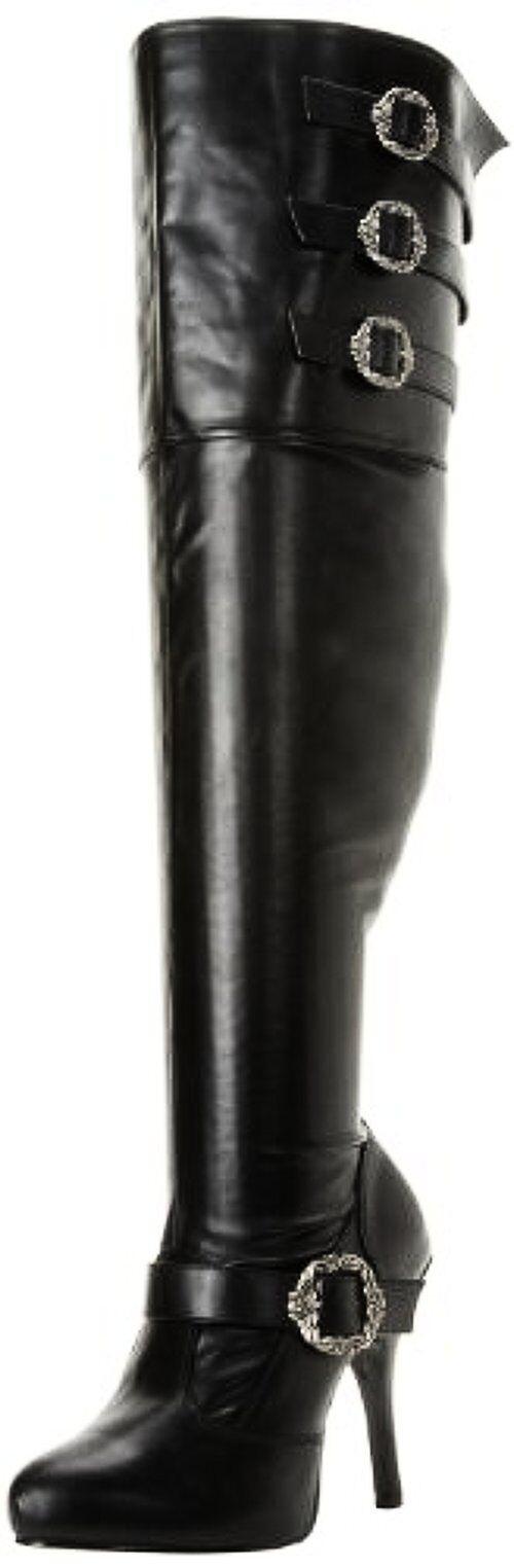 Funtasma Damenschuhe Diva-3006X/BPU Knee-High Boot- Pick SZ/Farbe.