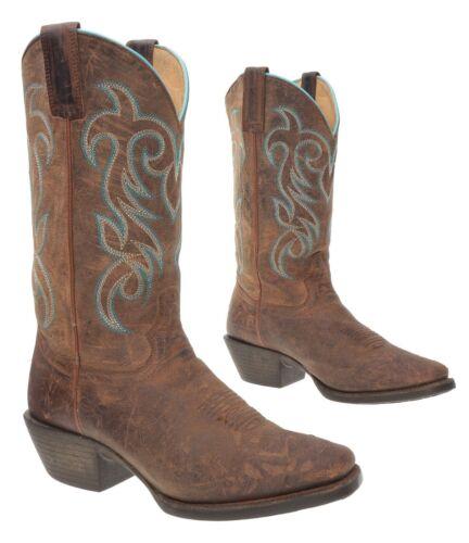 SHYANNE Cowboy Boots 8.5 B Womens WESTERN Distress