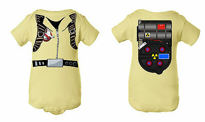 Ghostbuster Uniform Inspired Infant Baby Newborn Onesie Halloween Costume