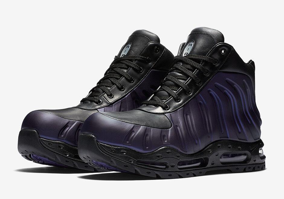 Nike Air Max Foamdome Stivali Varsity Purple Nero 843749 500