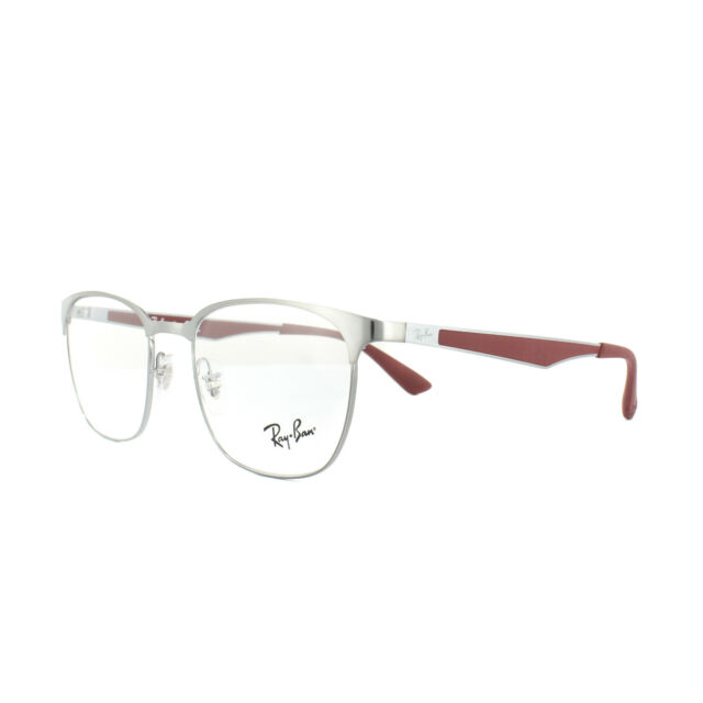 ac3dac65777 Authentic Ray-Ban 6356 - 2880 Eyeglasses Brushed Gunmetal 52mm for ...