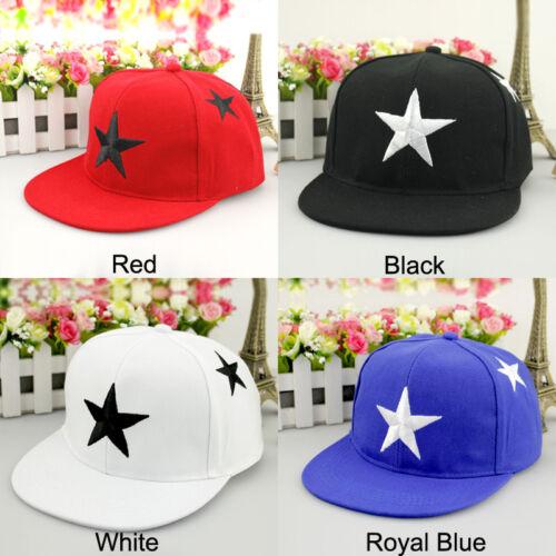 Toddler Kids Boys Girls Baseball Cap Adjustable Snapback Hip-hop Outdoor Sun Hat