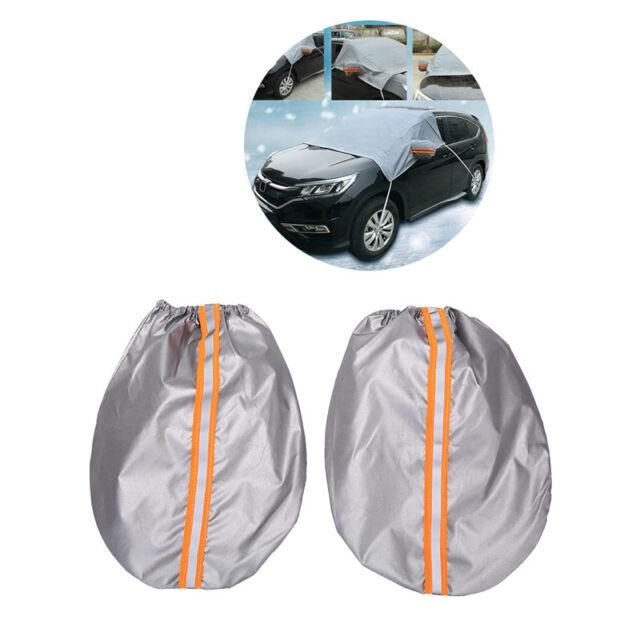 Car Windscreen Windshield Frost Cover Ice Snow Shield Window Mirror Protector TE
