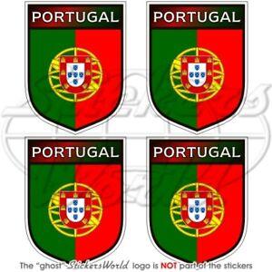 PORTUGAL Schild PORTUGIESISCHE Vinyl Sticker Aufkleber 50mm x4