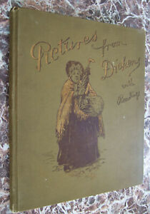 Pictures-from-Dickens-with-Readings-1895-Breathtaking-Chromolithographs