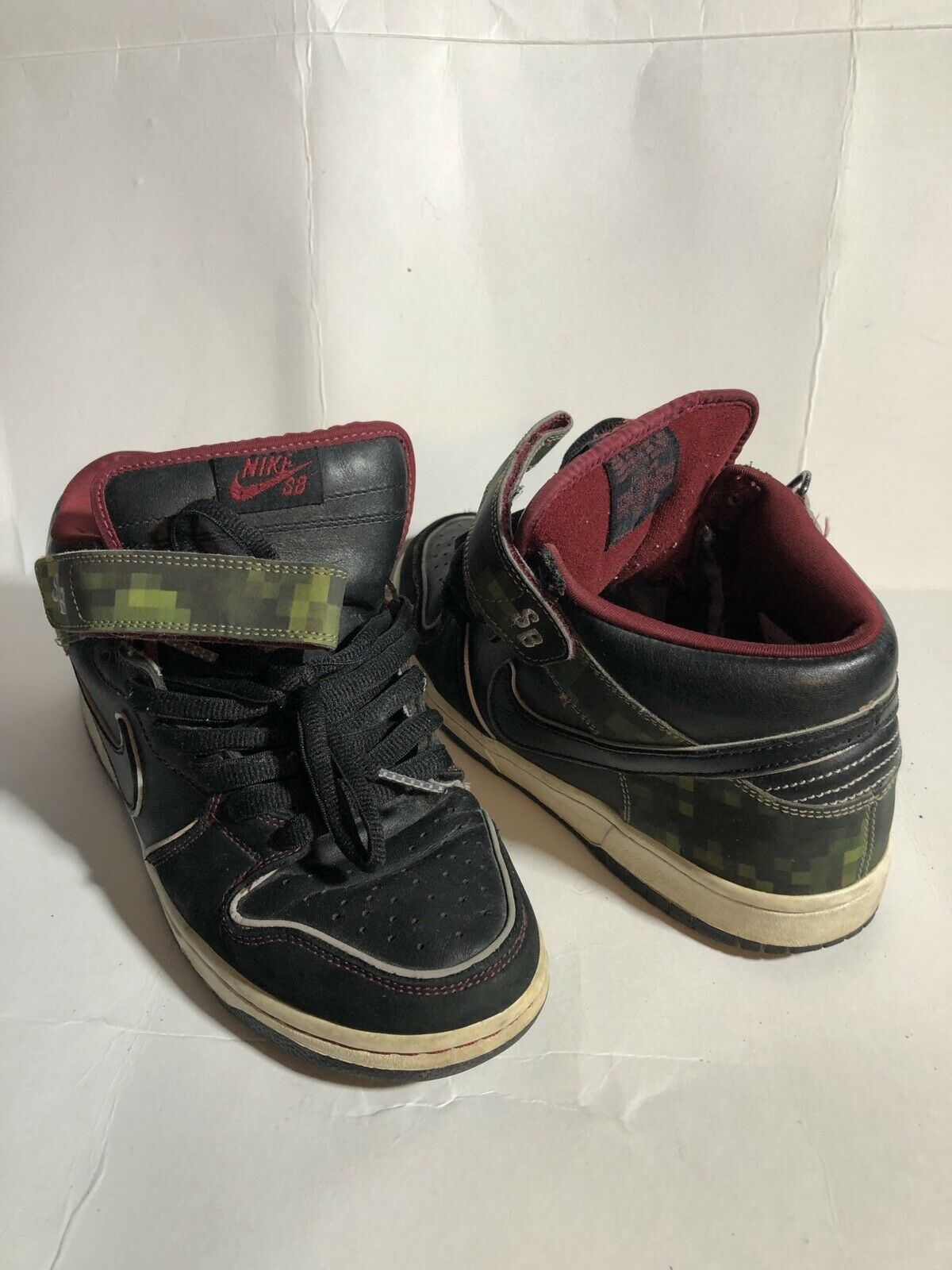 new styles c7c29 7580c Nike Sb Dunk Dunk Dunk Mid Nitrade Size 8 Tiff fc03e0