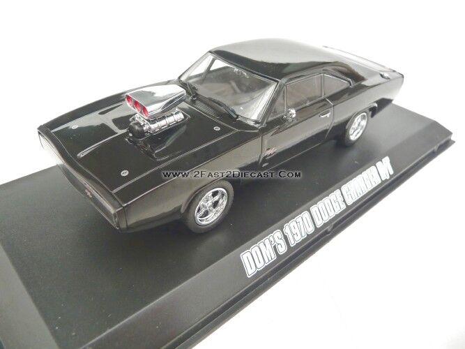 ofreciendo 100% Luz verde 1 1 1 43 Dodge Cochegador 1970 Negro Rápido y Furioso 5 GL86228  en venta en línea