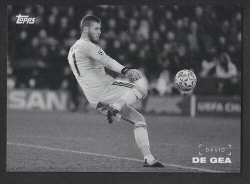 Topps sur demande 2019 Ligue des Champions-DAVID DE GEA-Manchester United