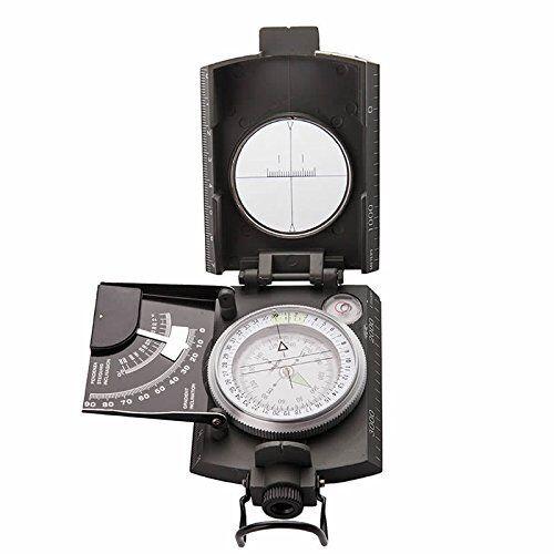 Bussola KONUS KONUSTAR Compass Metallo Grigio clinometro 4 scale professionale
