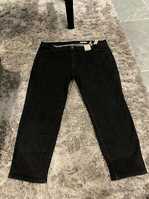M/&s Medium Blue Mid Rise Straight Jeans Size 20 S Bnwt Free Same day Postage