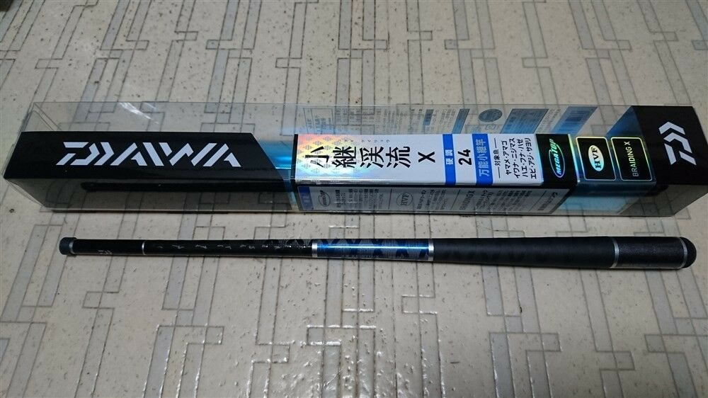 Daiwa Keiryu-X Koucho 24 TENKARA Rod Telescopic Fishing Pole Canne