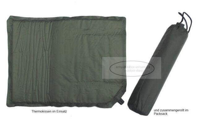 3,48€//St 2x Thermo Fussball Stadionkissen Outdoor Sitzmatte Camping Isomatte