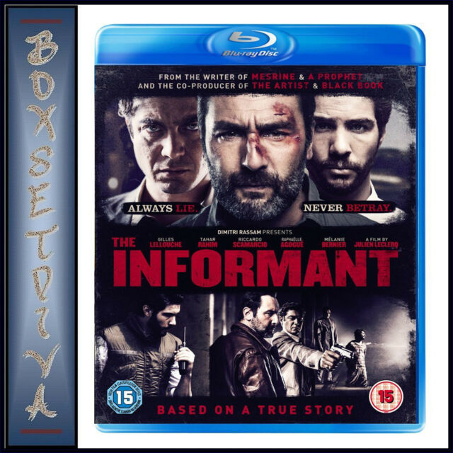 THE INFORMANT - Gilles Lelouche  ***BRAND NEW BLU-RAY  **
