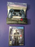 Dualshock 4 Wireless Controller Uncharted 4 Special Edition Bundle (ps4)