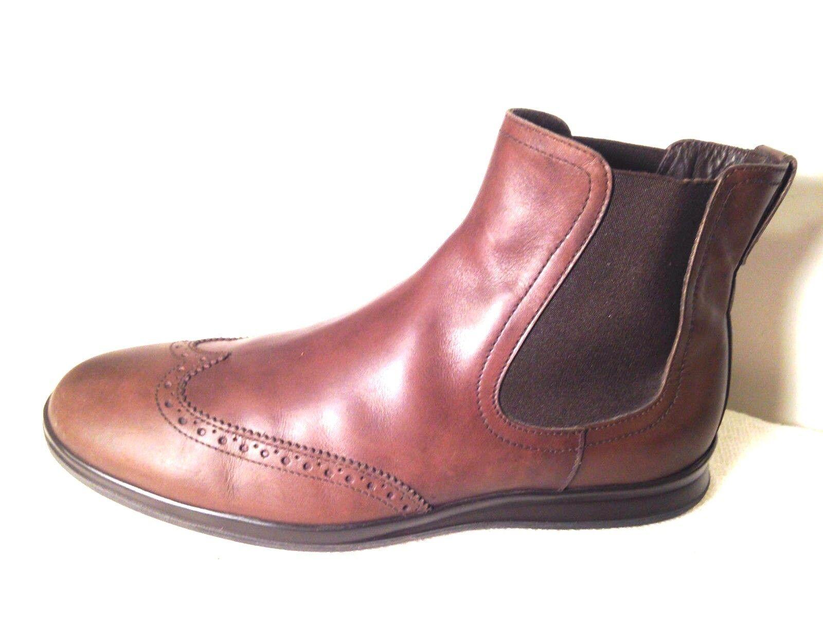 Hogan Para Hombre botas al Tobillo elásticos laterales de extremo de ala