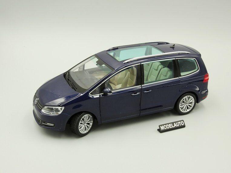 Volkswagen sharan Blau metallic 2010 minichamps 1,18